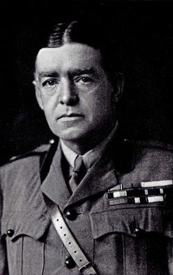 Major Sir Ernest Shackleton, 1918