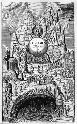 Frontispiece to George Wither's 'Emblems', 1635