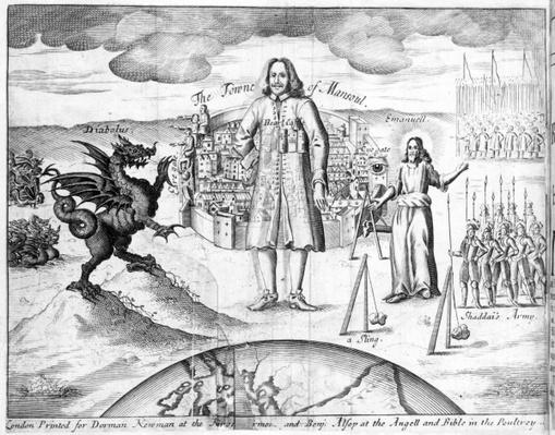 The Town of Mansoul, illustration from 'The Holy War' by John Bunyan, 1682