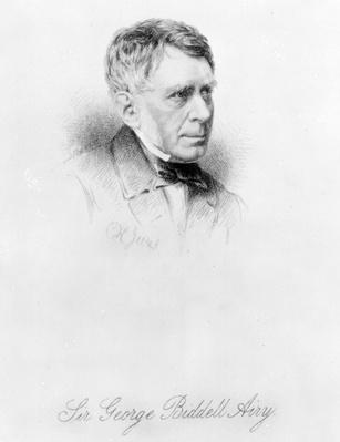 Sir George Biddell Airy, engraved by C.H. Jeens