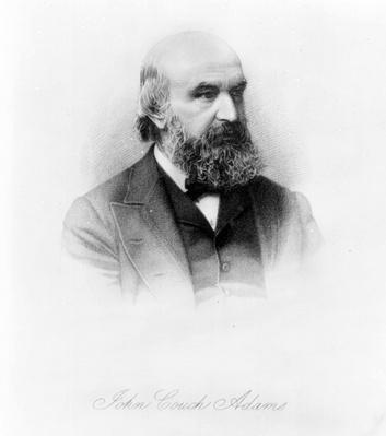 John Couch Adams, engraved by George J. Stodart