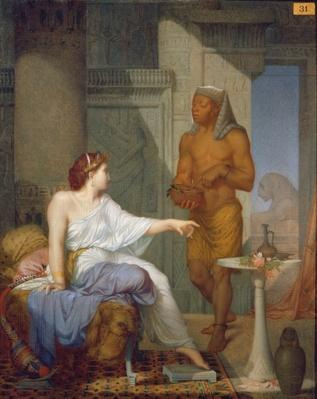 Cleopatra and her Slave