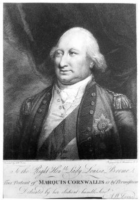 Charles, Marquis of Cornwallis, 1799