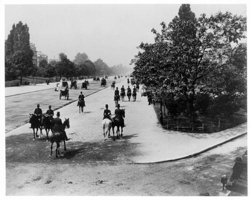 The Bois de Boulogne, Paris, c.1900