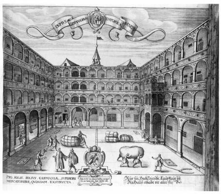 The 'Domus Germanorum' in Venice, 1616