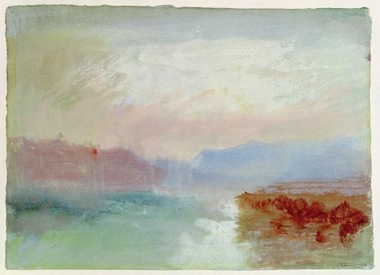 River scene, 1834