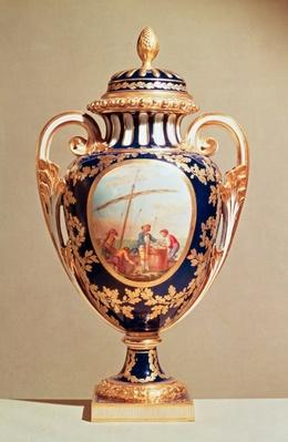 Sevres vase, mid 18th century