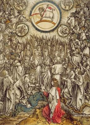 The Lamb of God appears on Mount Sion, 1498