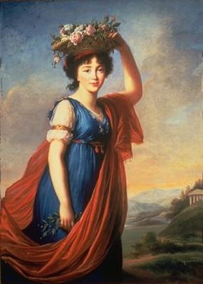 Val A. Browning Memorial Collection: Princess Eudocia Galitzine as Flora