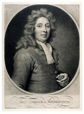 Portrait of Thomas Tompion