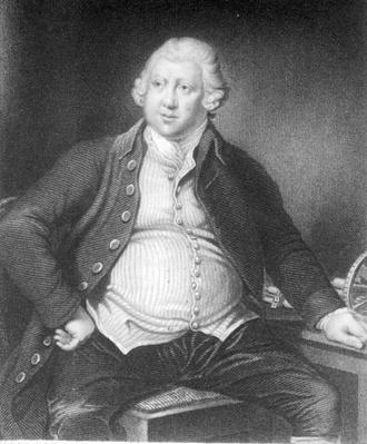 Sir Richard Arkwright, engraved by Joseph Jenkins, 1833
