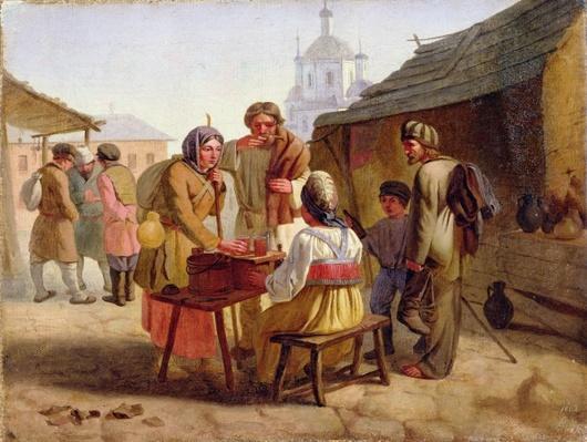 Kvas Seller, 1862