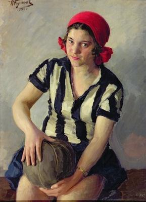 A sportswoman, 1928