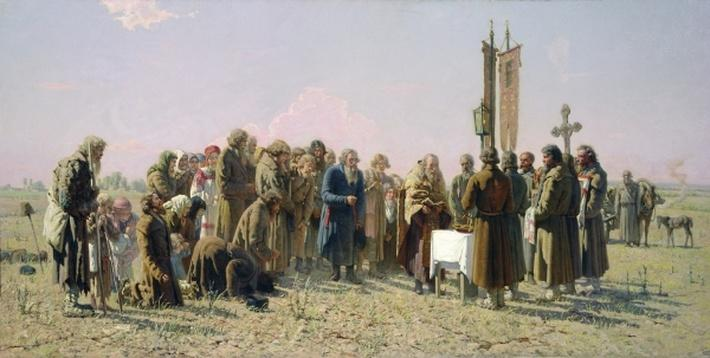 Prayer During the Drought, 1880