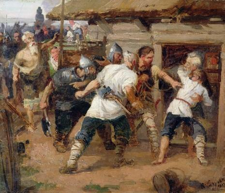 The Pagans killed the first Christians of Kievan Rus, 1884