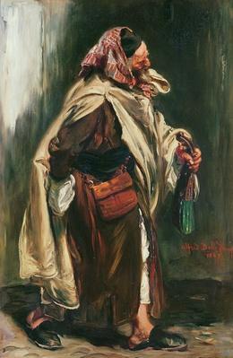 Elderly Moroccan Jew, 1867