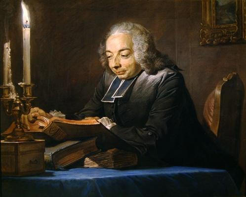 Abbe Jean-Jacques Huber, 1742