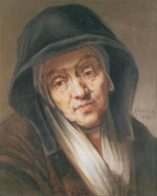 Copy of a portrait by Rembrandt of his mother, 1776