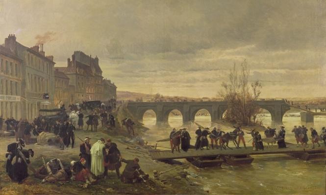 The Ambulance de la Presse at Joinville during the Siege of Paris