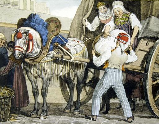 The Laundry Cart, 1822