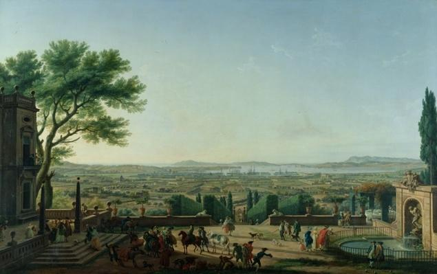 City and Port of Toulon, 1756