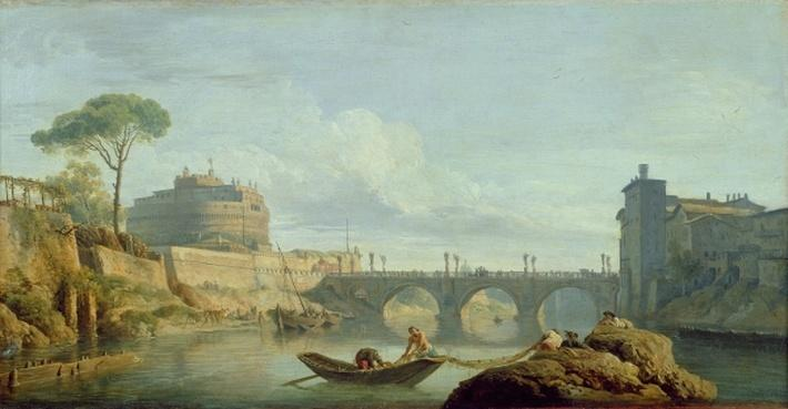 The Bridge and Castle Sant'Angelo, 1745