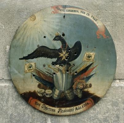 Shield of a Prussian officer, 1764