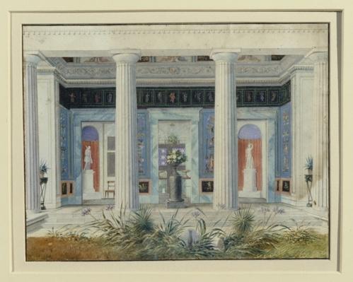 Garden portico, c.1834