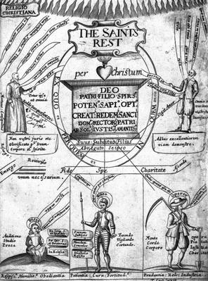 Frontispiece to 'The Saints' Everlasting Rest' by Richard Baxter