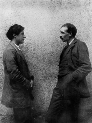 John Maynard Keynes and Duncan Grant