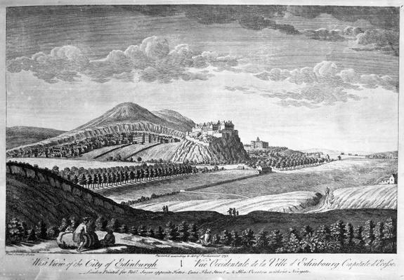 West View of the City of Edinburgh, 1753