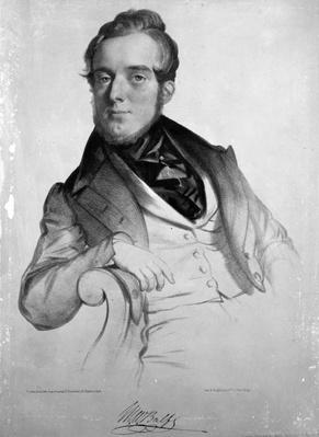 Michael Balfe, engraved by the artist