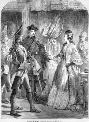 The Arrest of Caroline Matilda, Queen of Denmark and Norway in 1772