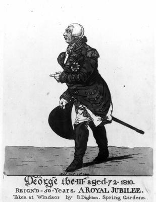 King George III, aged 72, 1810