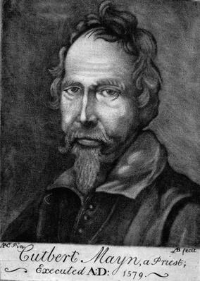 Cuthbert Mayne, 1579