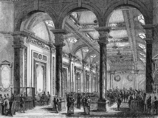 Interior of Lloyd's of London