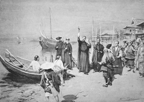 The Landing of St. Francis Xavier at Kagoshima