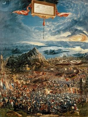 The Battle of Issus, or The Victory of Alexander the Great, 1529
