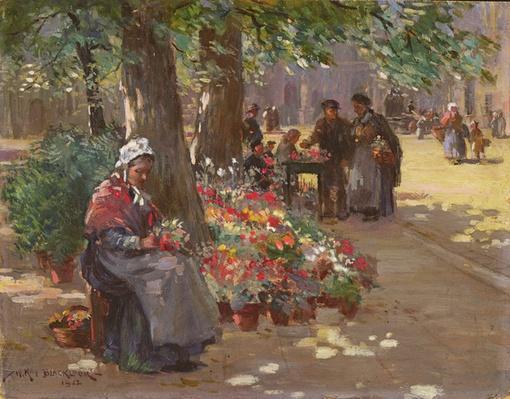 The Flower Seller, 1912