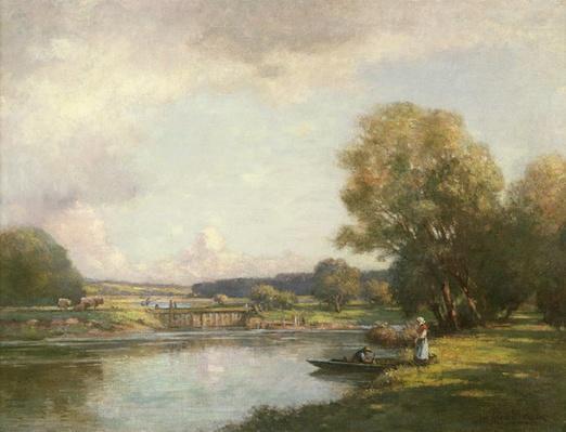 Summer at Hemingford Grey