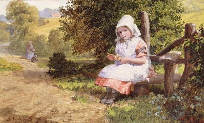 Resting, 1865