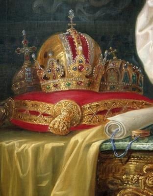 Detail from Franz Joseph I of Austria, c.1916