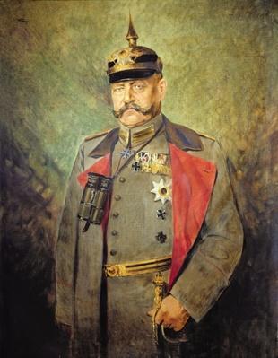 General Paul von Hindenburg, c.1916