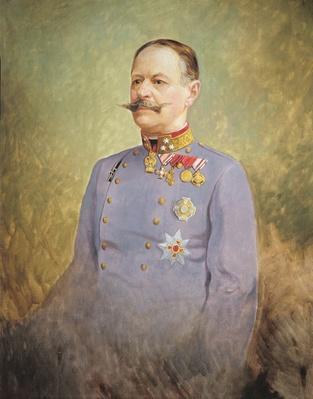 General Alexander Freiherr von Krobatin, c.1916