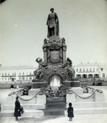 The Emperor Alexander II Monument in Samara