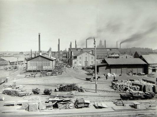 The Lysva iron foundry