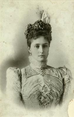 Portrait of Empress Alexandra Fyodorovna