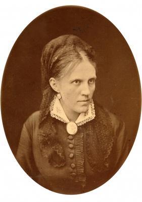 Portrait bust of Anna G. Dostyevskaya