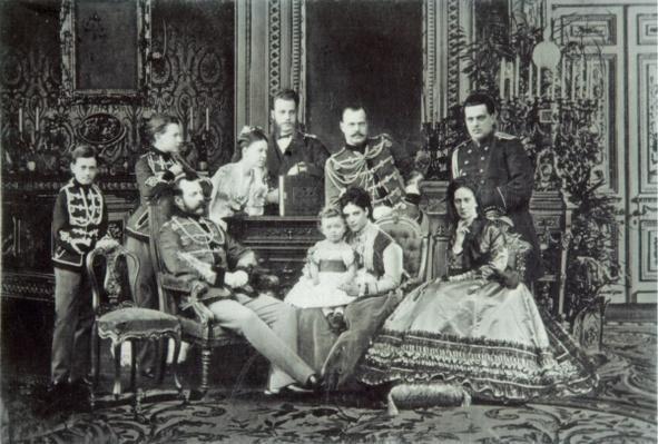 Family Portrait of Emperor Alexander II
