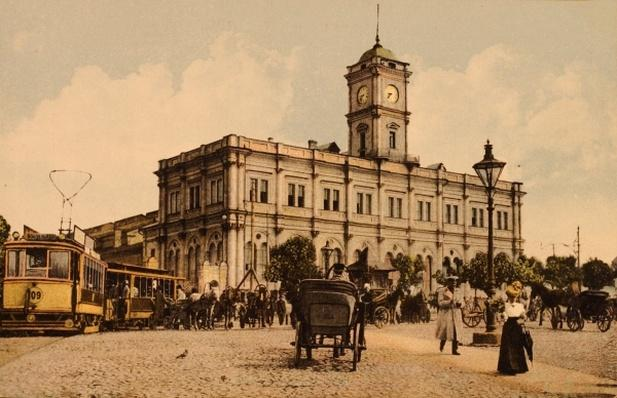 The Nicholas Railway Station, Kalanchyovskaya Square, Moscow